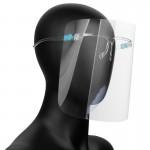 Plexi arcvédő szemüveg (5 db plexivel)