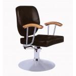 106. Fodrász szék hidraulikus fekete