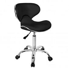 2222. Forgó ülőke háttámlával ergonómikus fekete