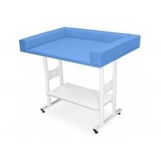 751. Csecsemővizsgáló asztal alsó polccal