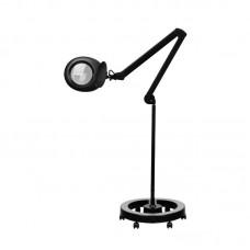 23253. Nagyítós lámpa 5D LED kerek talppal Fekete